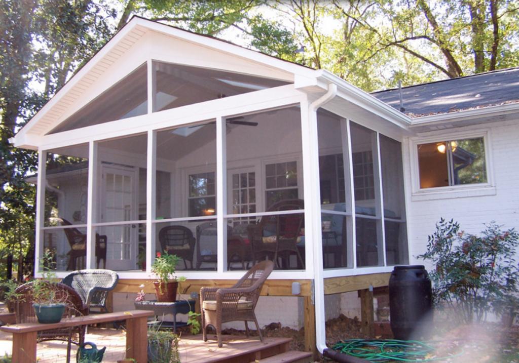 screened in porch Durham North Carolina Home