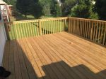 New deck with top quality wood.