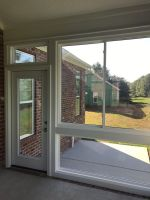 New windows for sun room