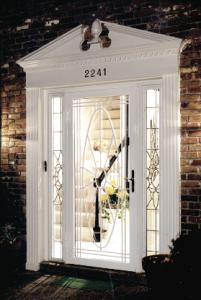 security door installed by gerald jones