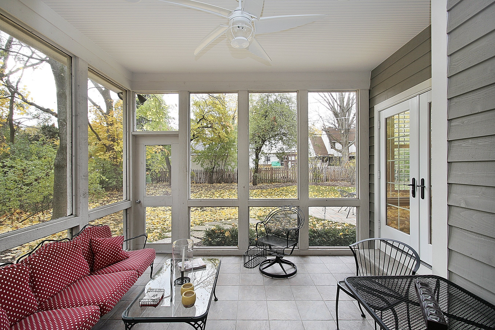 bigstock Porch with view to patio 16567724